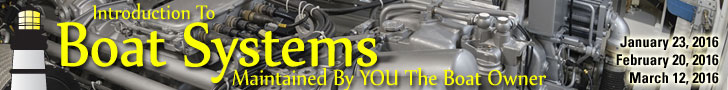 Boat Systems, Maintained by YOU