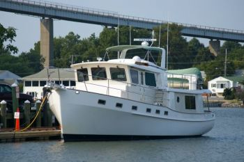Kadey-Krogen 48 Trawler Training & Building Cruising Confidence
