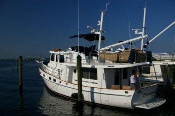 Kadey Krogen 44 Delivery With Owner After Trawler Training