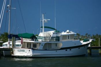 Kadey Krogen 58 Trawler - Delivery with Owners Aboard