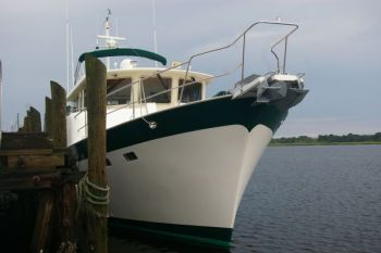 Tag Team Delivery of Kadey Krogen 58 from Brunswick GA to Herrington Harbor MD