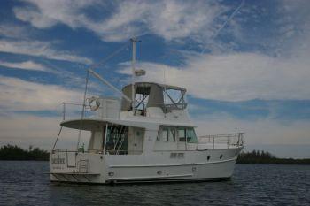 Trawler Training While the Saints Geaux Marching In! Beneteau Swift Trawler 42