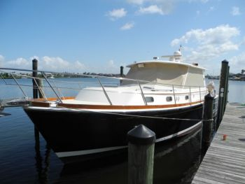 Training Aboard a Grand Banks Eastbay 46 in Tampa Bay