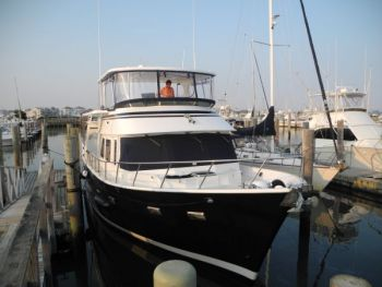 Training and Delivery of  DeFever 50 foot Motor Yacht from Norfolk VA to NYC