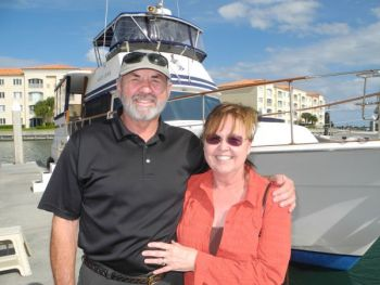 California Dreaming Becomes a Reality - Training with Captain Chris aboard a Gulfstar Trawler