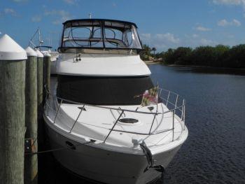 Training Aboard a  Meridian 39 Motor Yacht