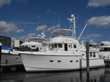 Nordhavn 47 Owners Train with Captain Chris