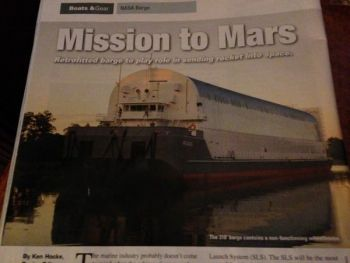 Mission to Mars Starts in Louisiana