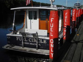 Full Circle - Training Aboard a Campbells Custom Down-East Yacht