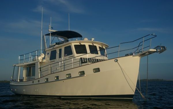 Kadey Krogen 44 Trawler Training Delivery Great Loop AGLCA